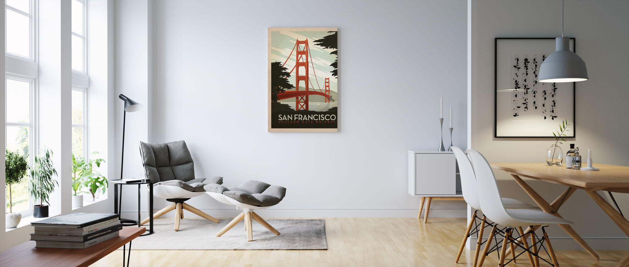 San Francisco - Canvastaulu - Olohuone