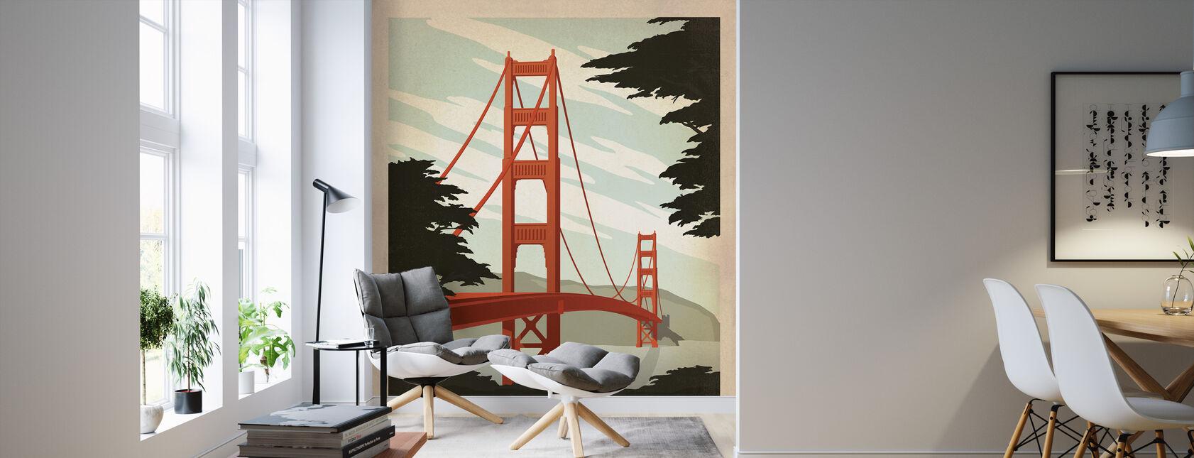 San Francisco - Wallpaper - Living Room