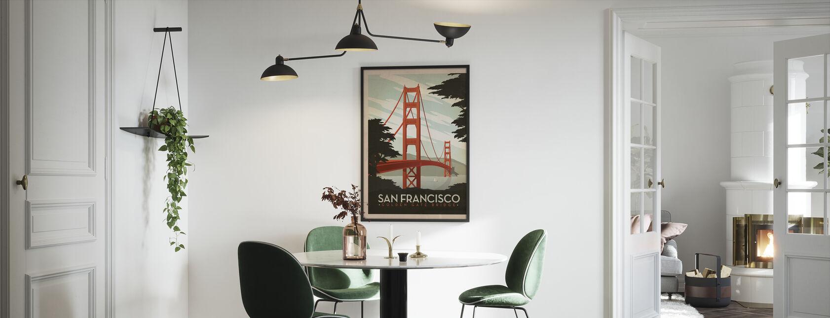 San Francisco - Framed print - Kitchen