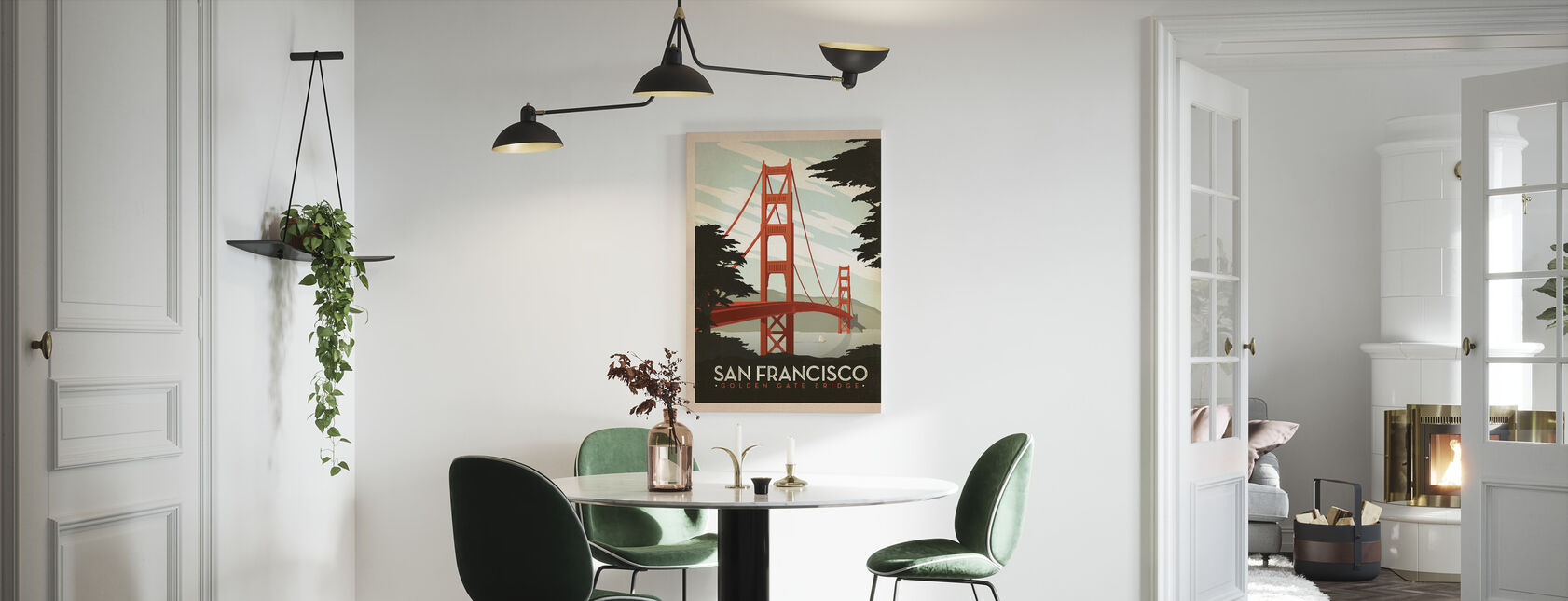 San Francisco - Canvas print - Kitchen