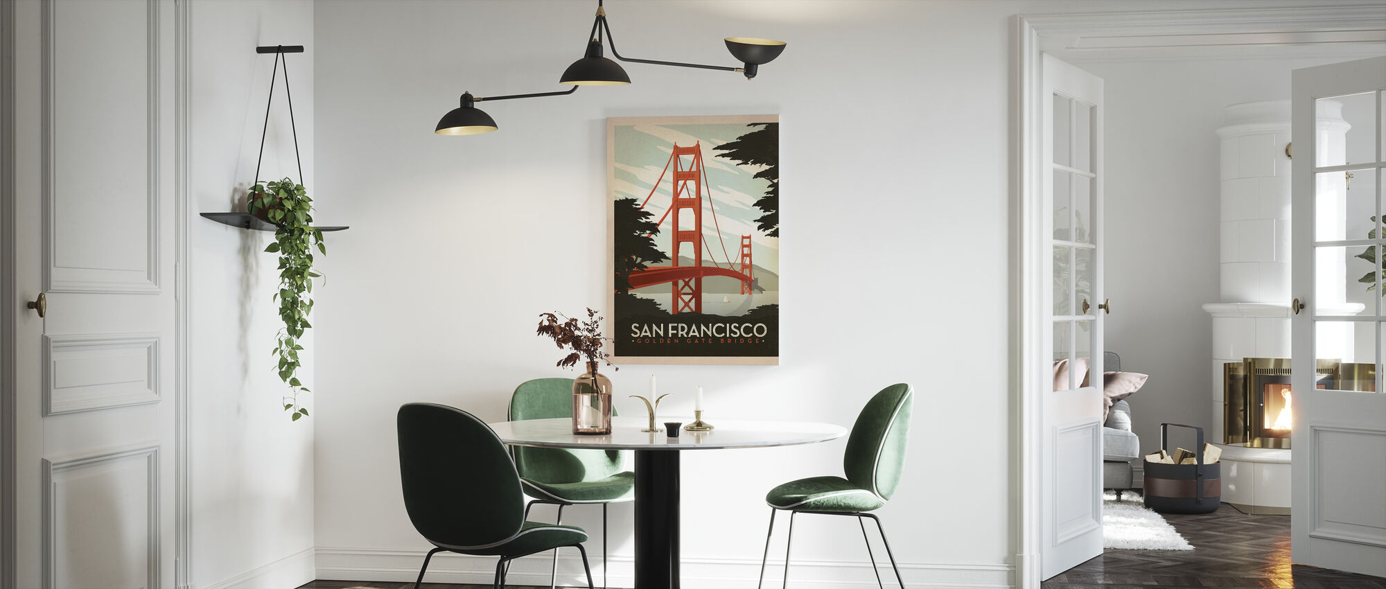 San Francisco - Canvas print - Keuken