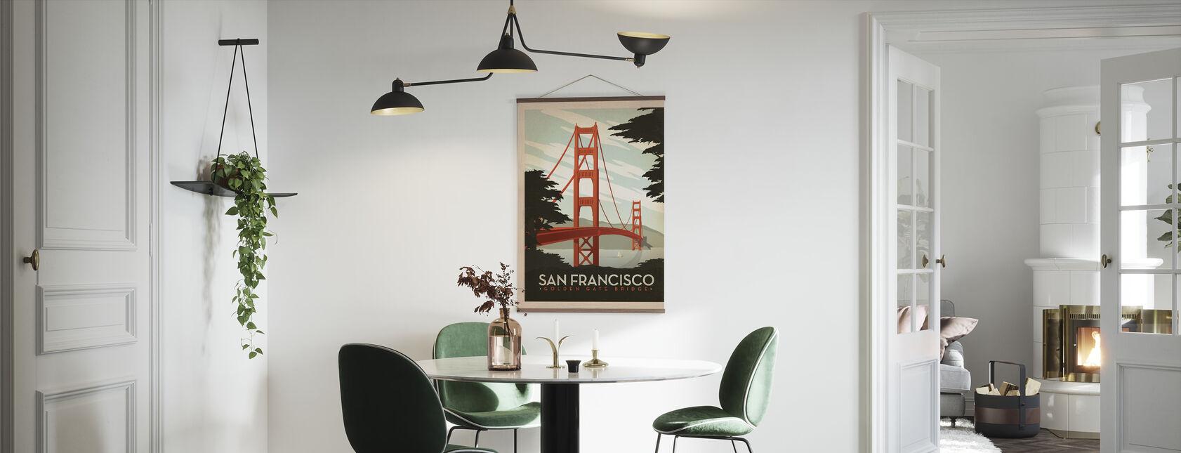 San Francisco - Juliste - Keittiö