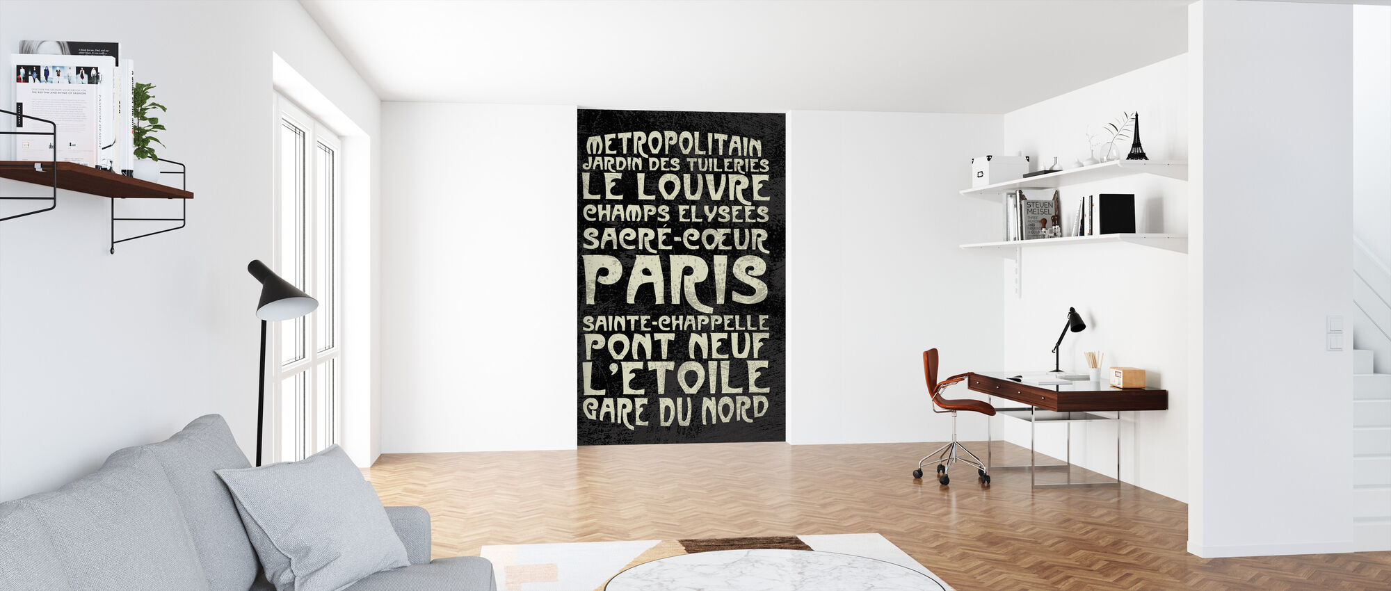 Paris Sign - Wallpaper - Office