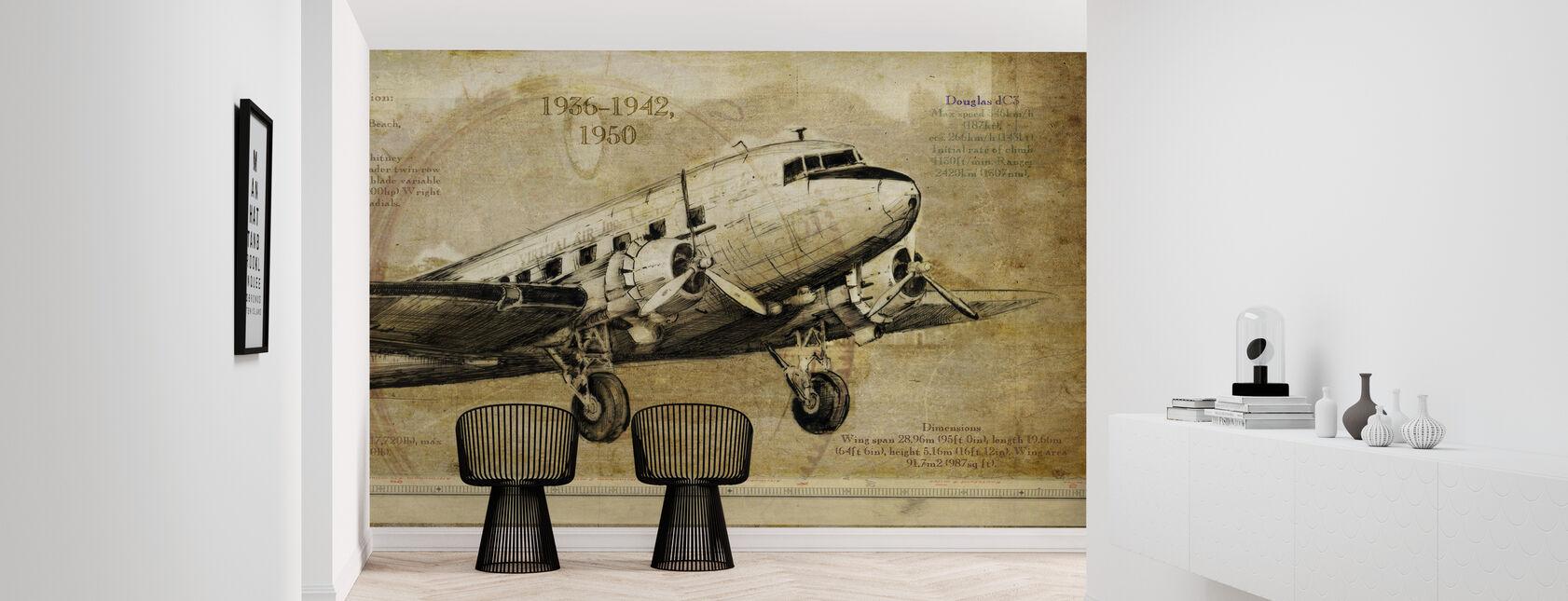 Flugzeug - Tapete - Flur