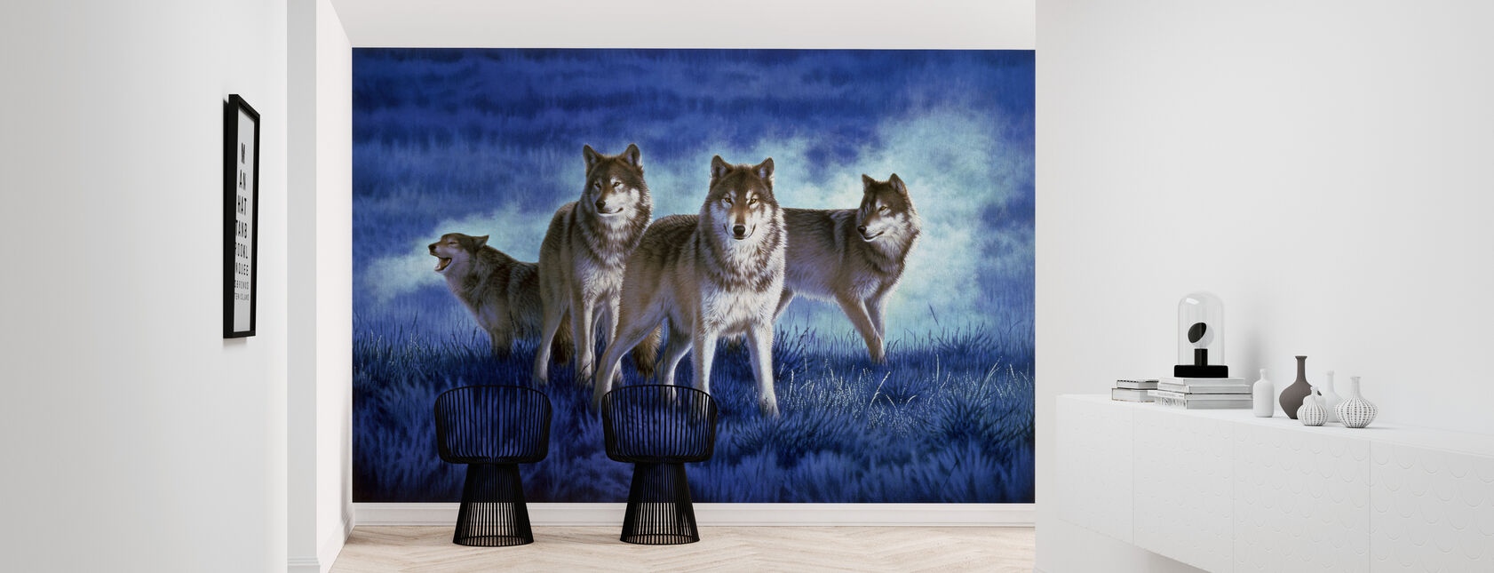 Wolves - Wallpaper - Hallway
