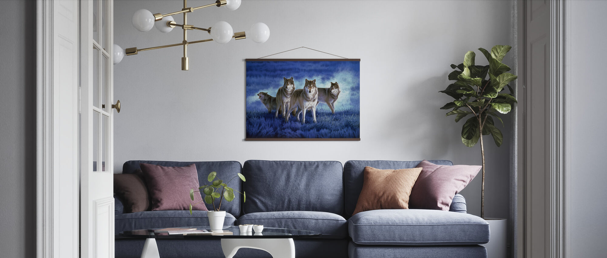 Wolves - Poster - Living Room