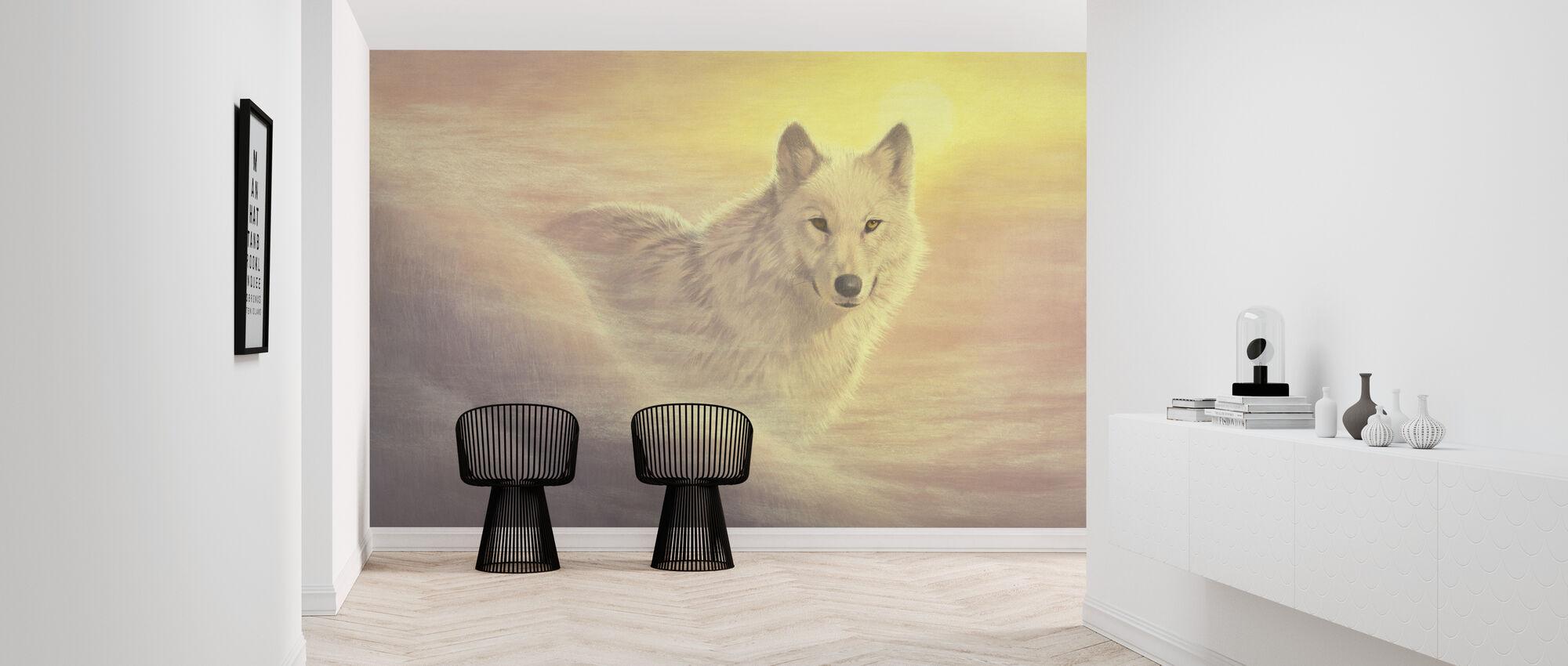 Mystic Wolf - Wallpaper - Hallway