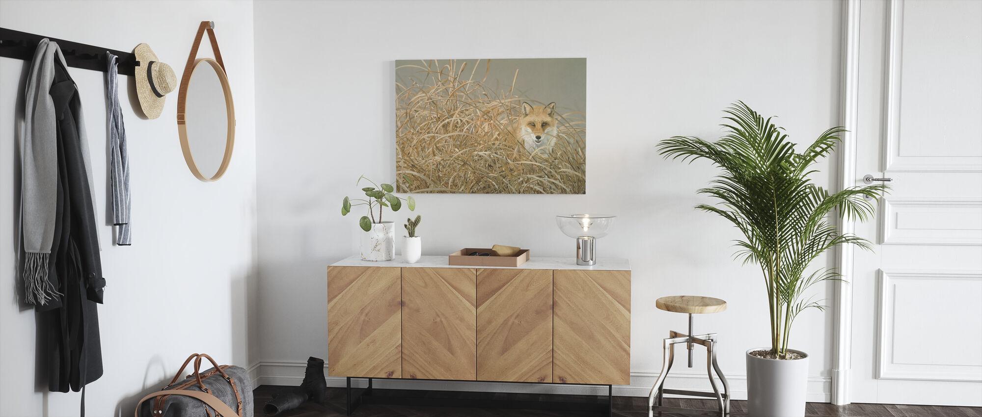 Red Fox - Canvas print - Hallway