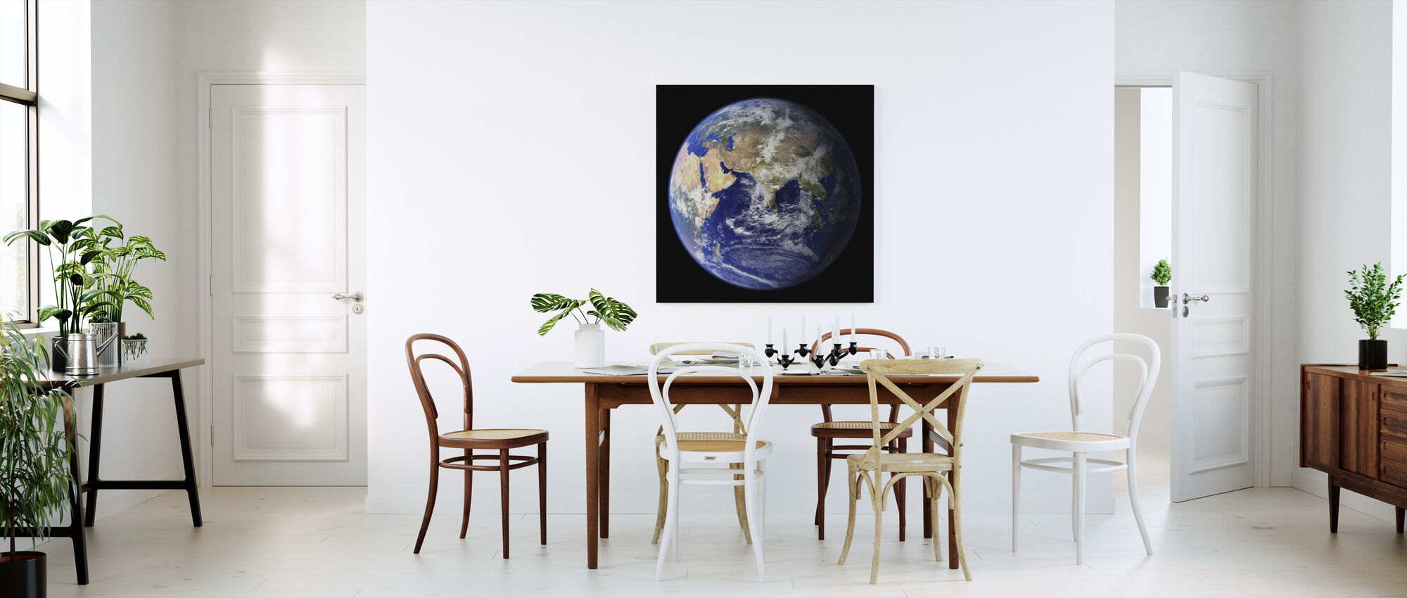 Earth - Canvas print - Kitchen