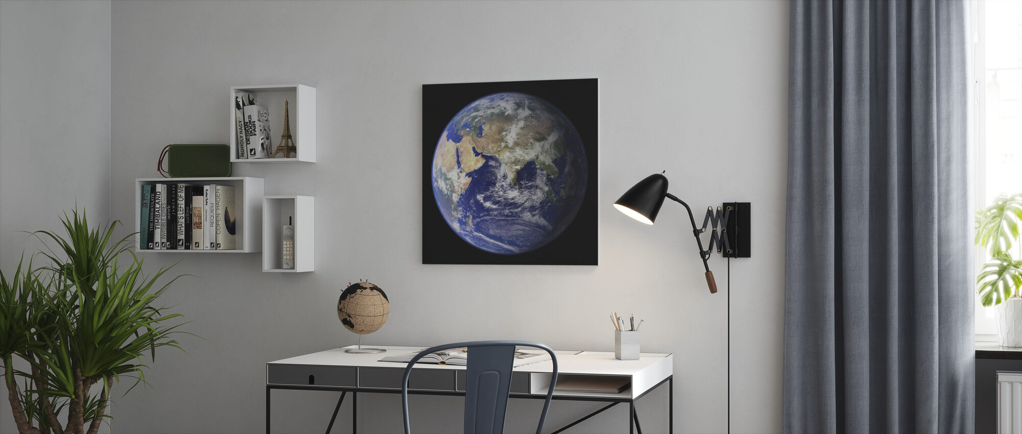 Jorden - Canvastavla - Kontor