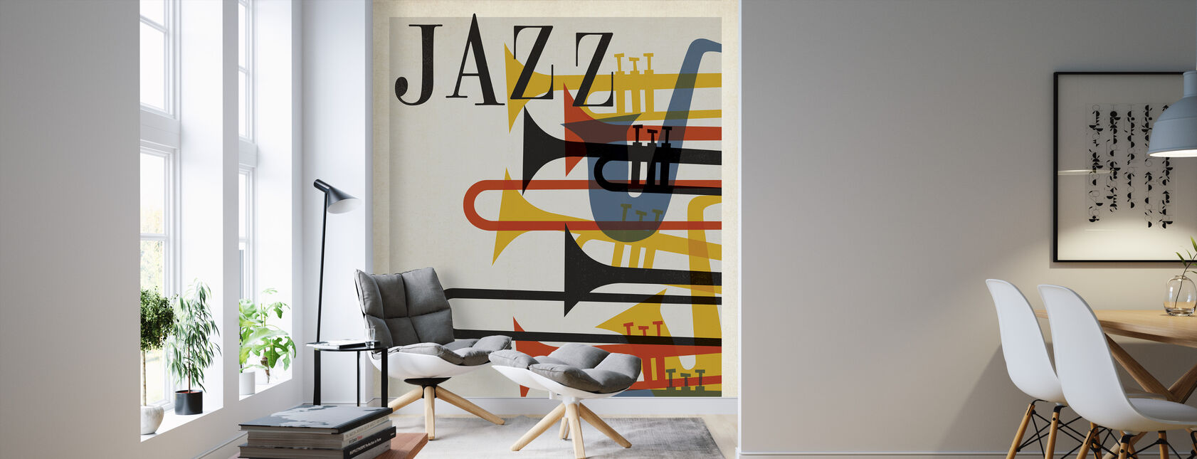 Jazz - Wallpaper - Living Room