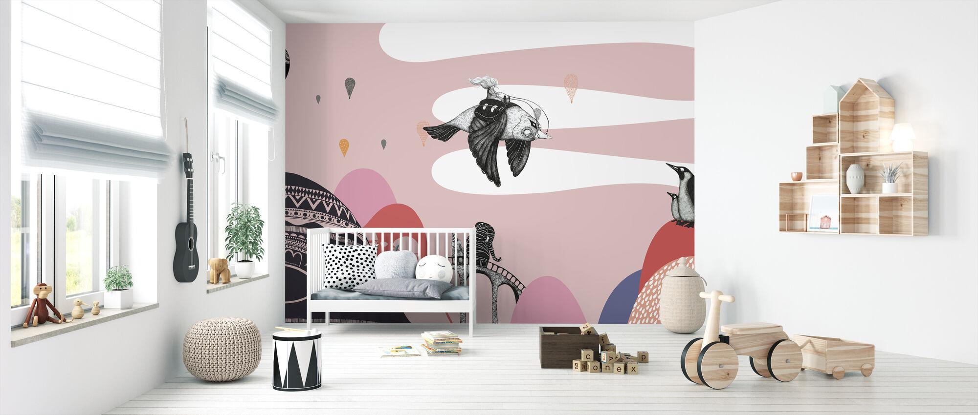Hornstull Bird - Tapetti - Vauvan huone