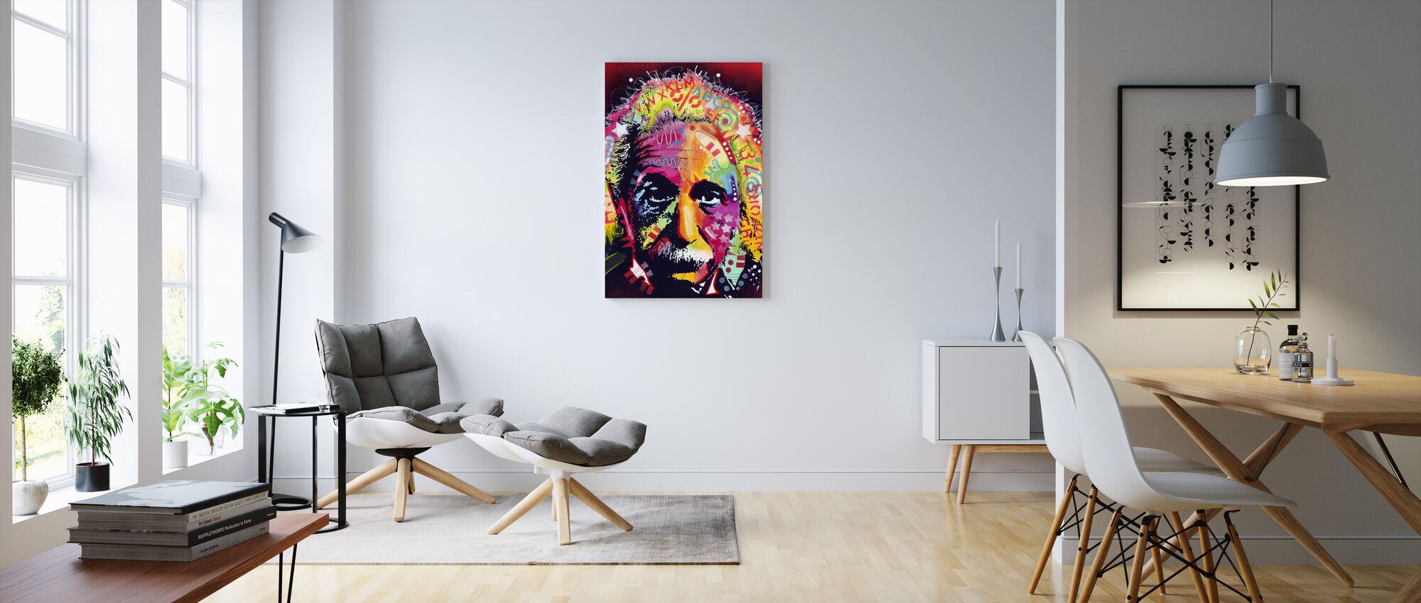 Einstein 2 - Impression sur toile - Salle à manger