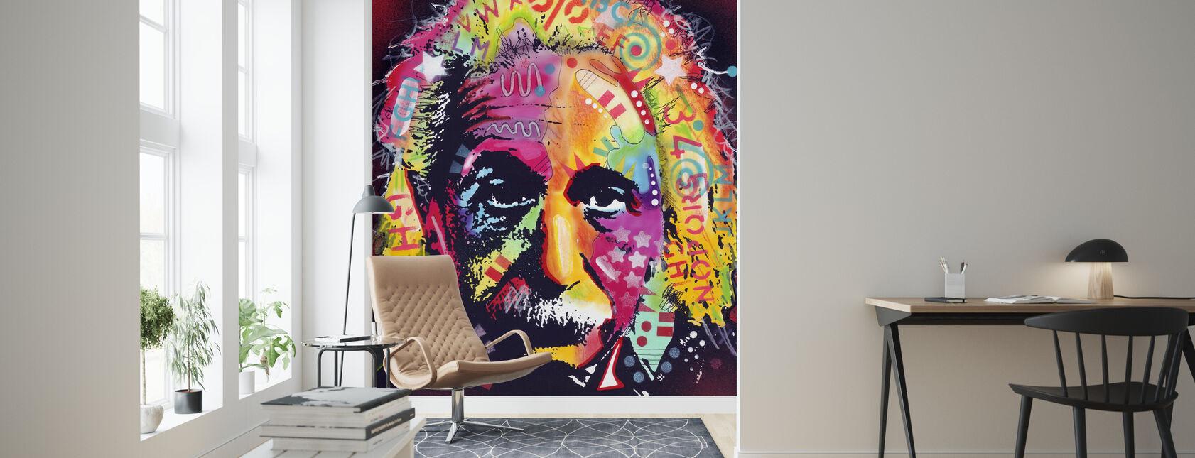 Einstein 2 - Tapetti - Olohuone