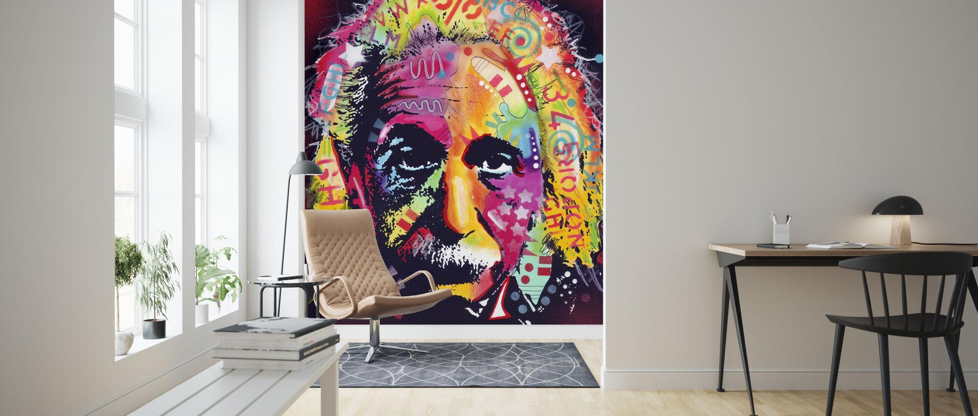 Einstein 2 - Tapete - Wohnzimmer