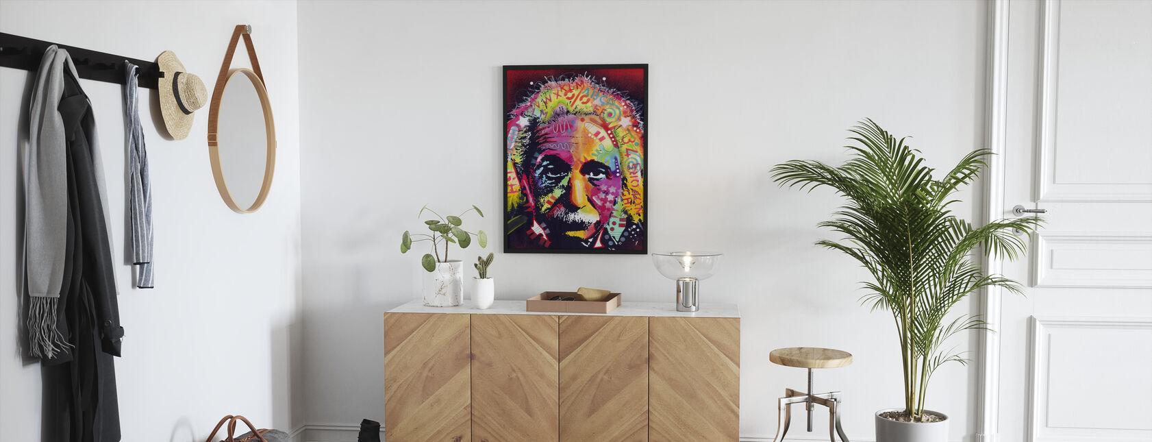 Einstein 2 - Indrammet billede - Entré