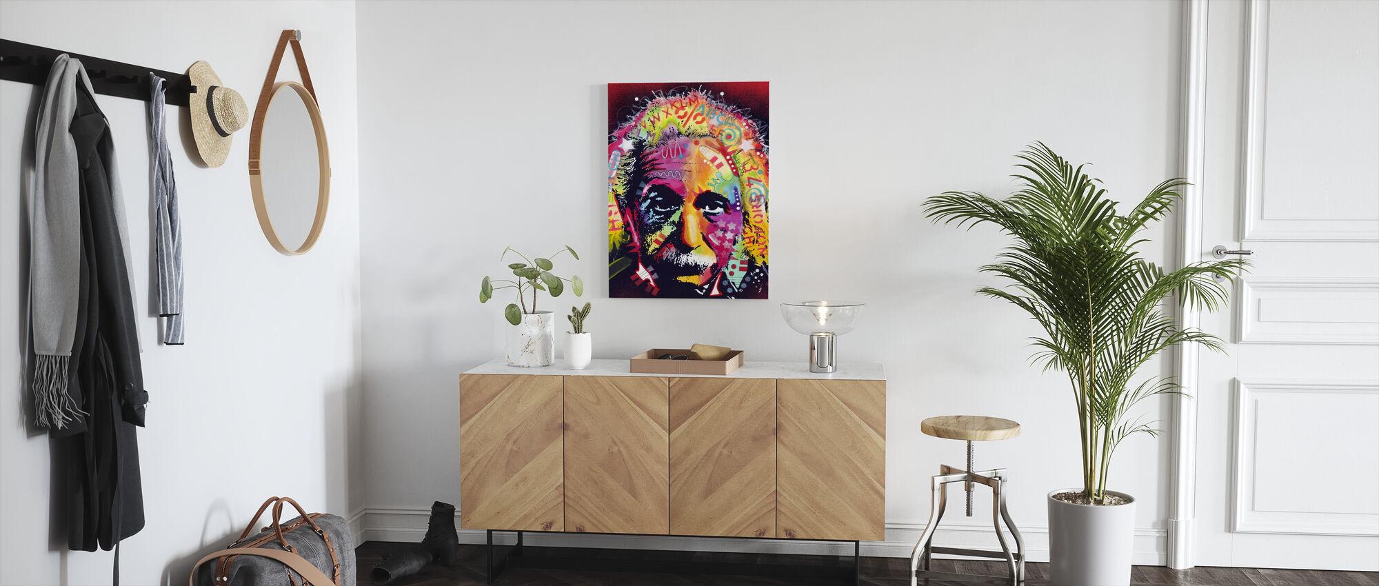 Einstein 2 - Canvas print - Hallway