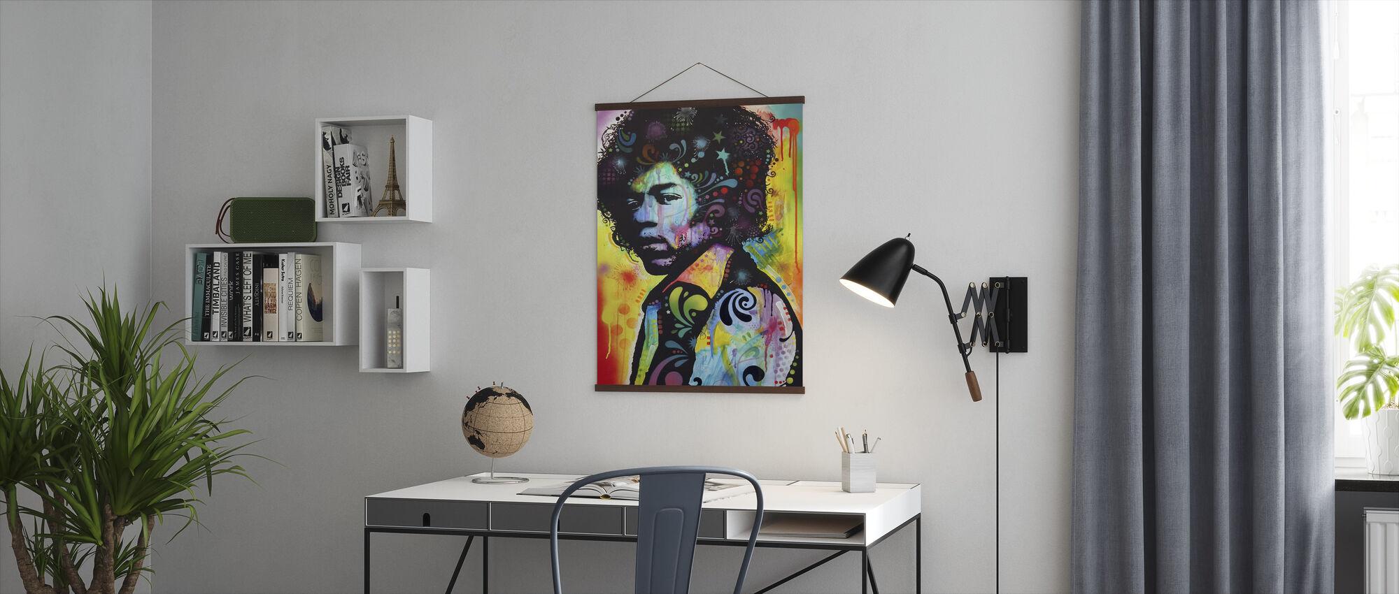 Hendrix - Poster - Büro