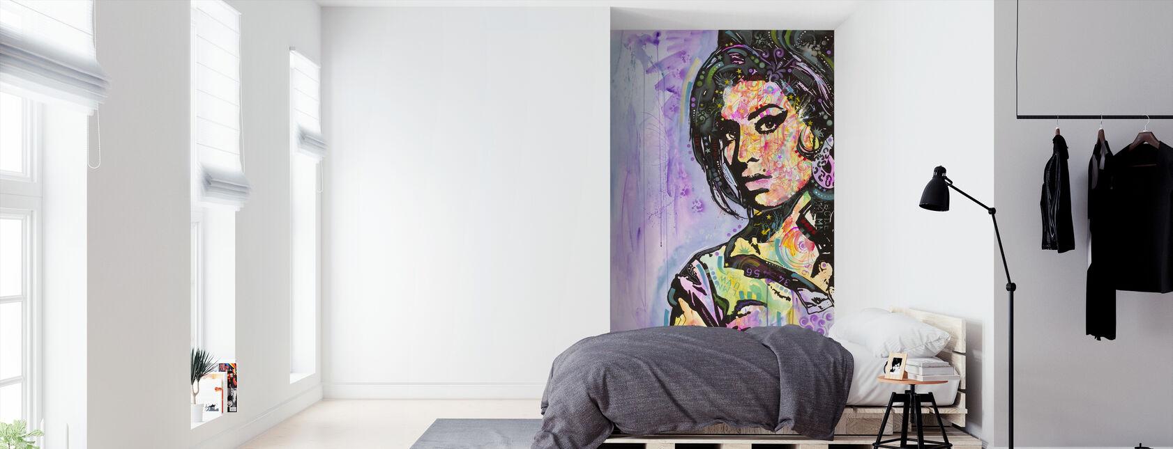 Amy - Tapet - Soveværelse