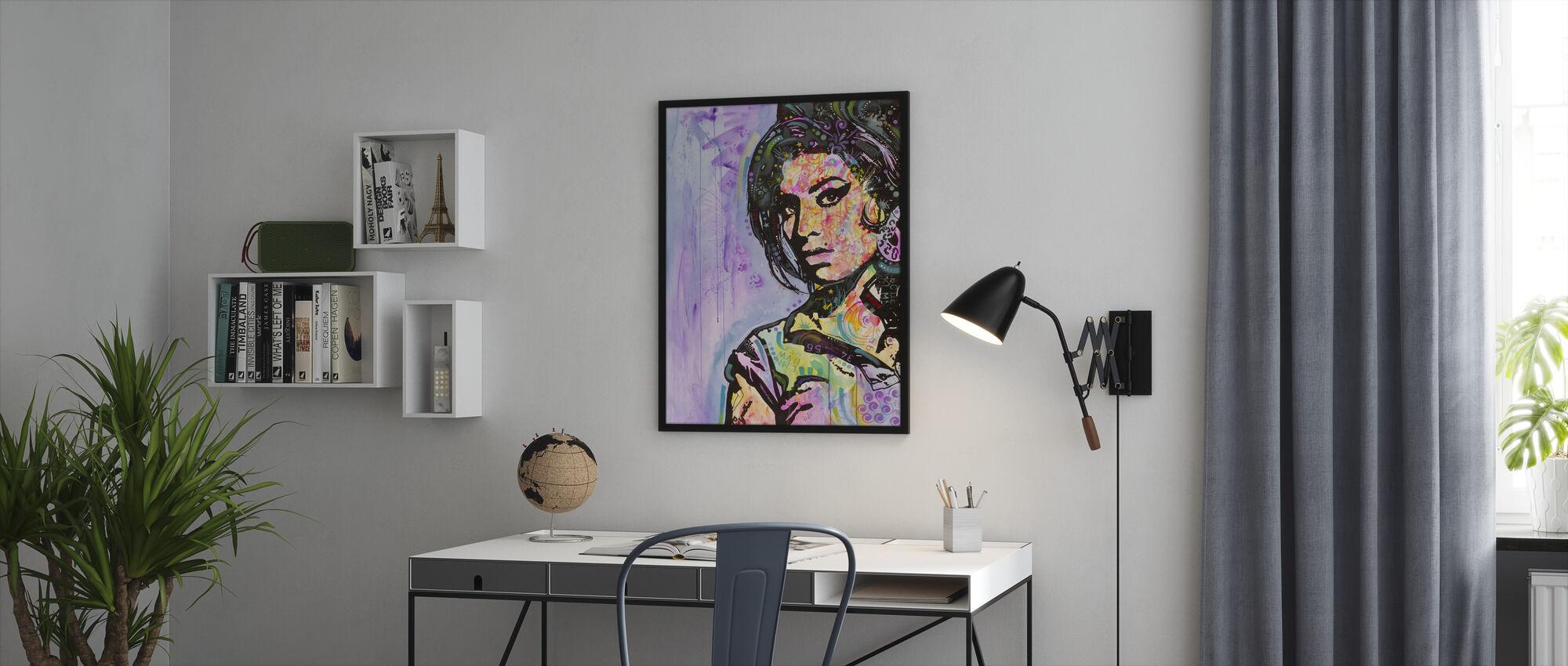 Amy - Framed print - Office