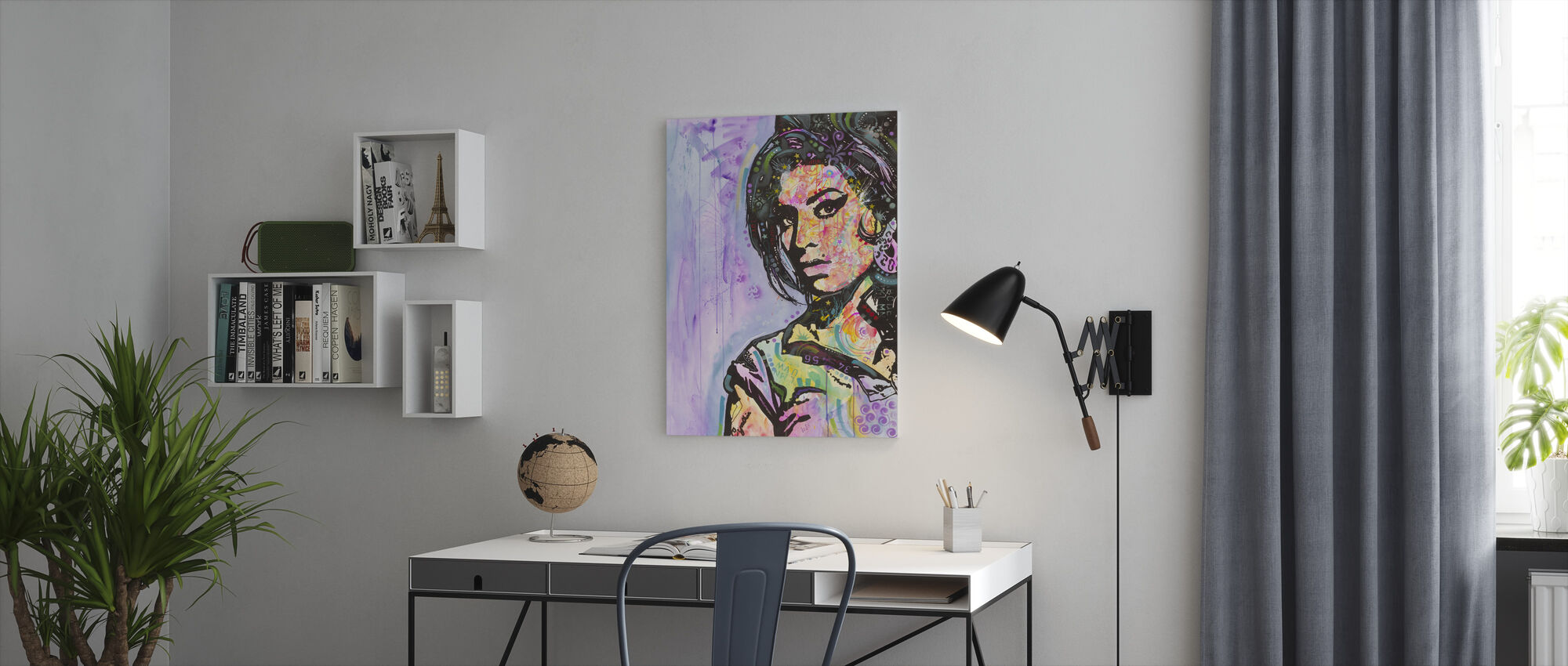 Amy - Canvas print - Office