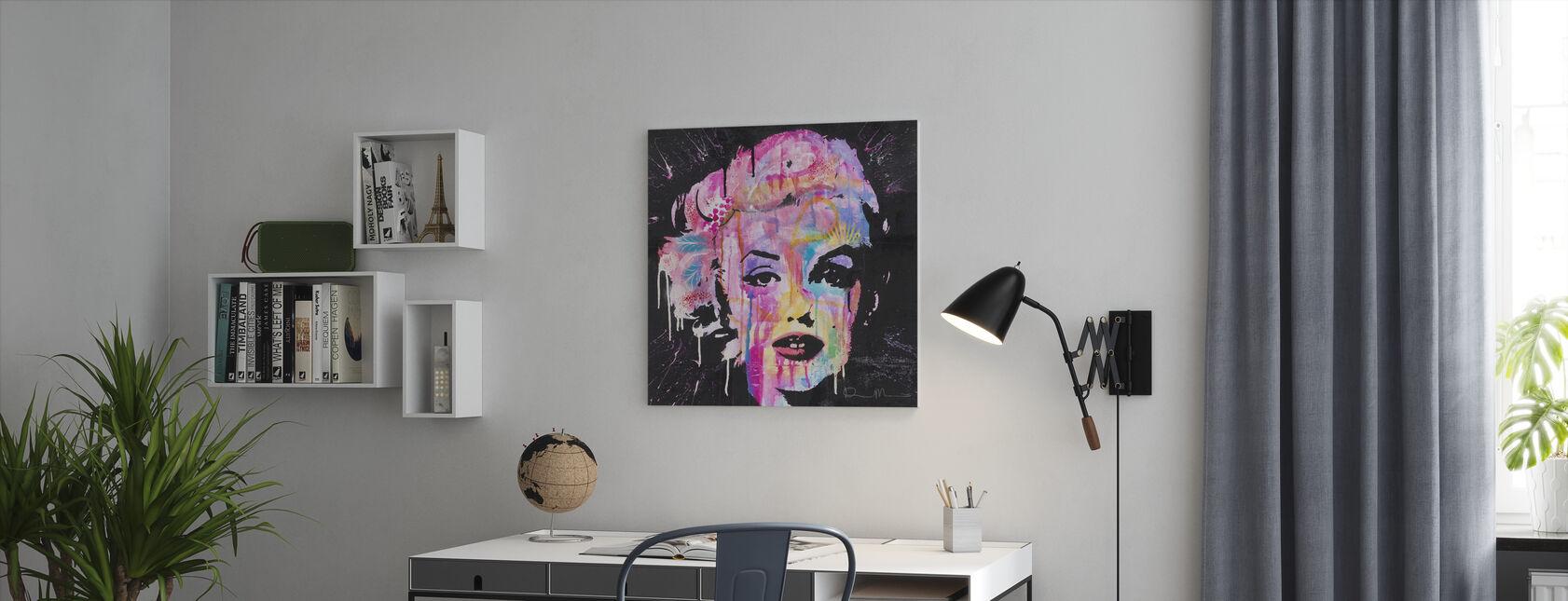 Marilyn - Canvastaulu - Toimisto