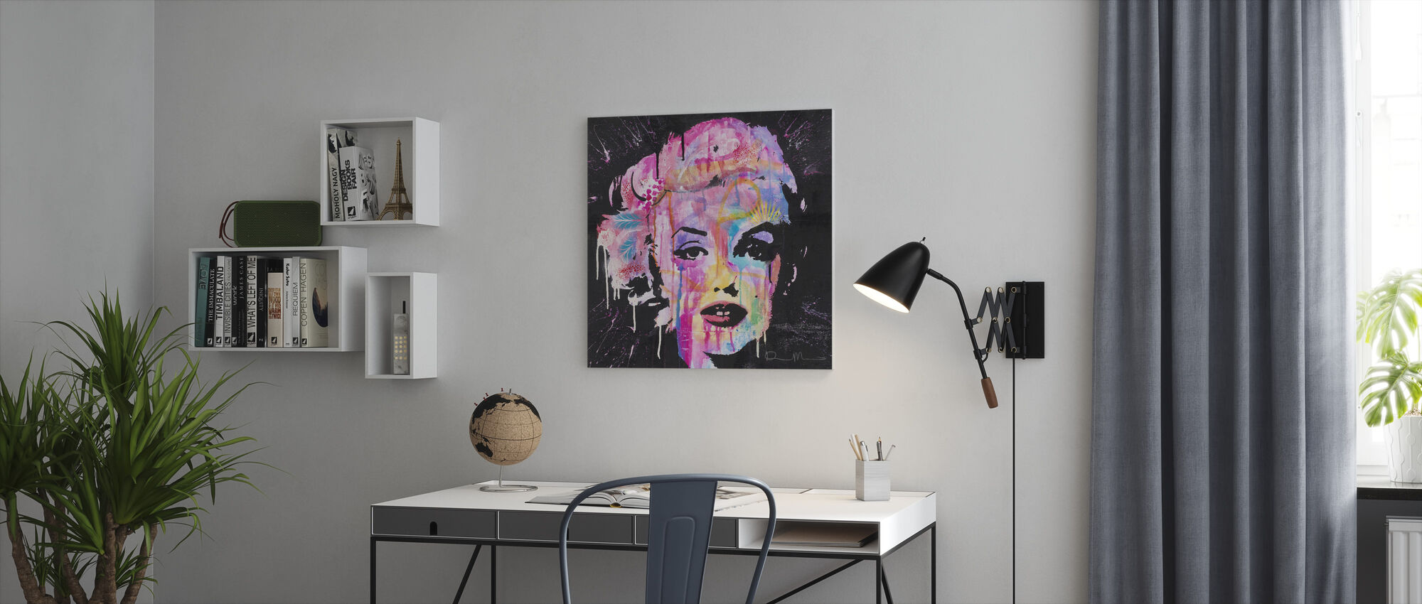 Marilyn - Lerretsbilde - Kontor