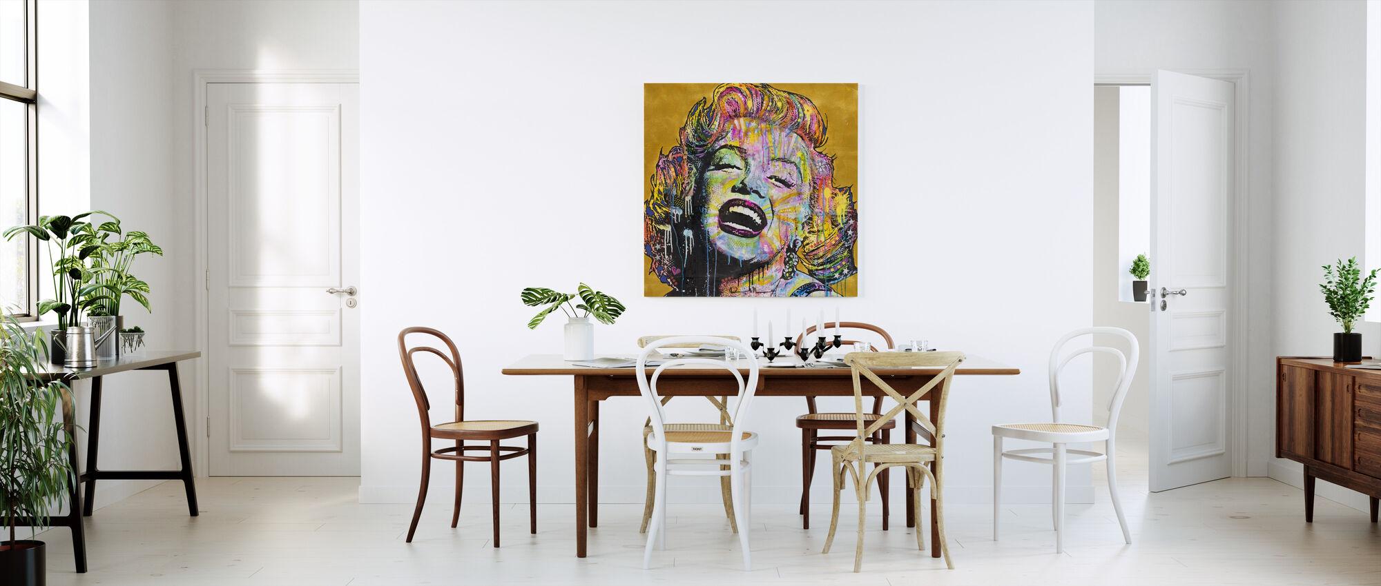Marilyn Multicolor - Canvas print - Kitchen