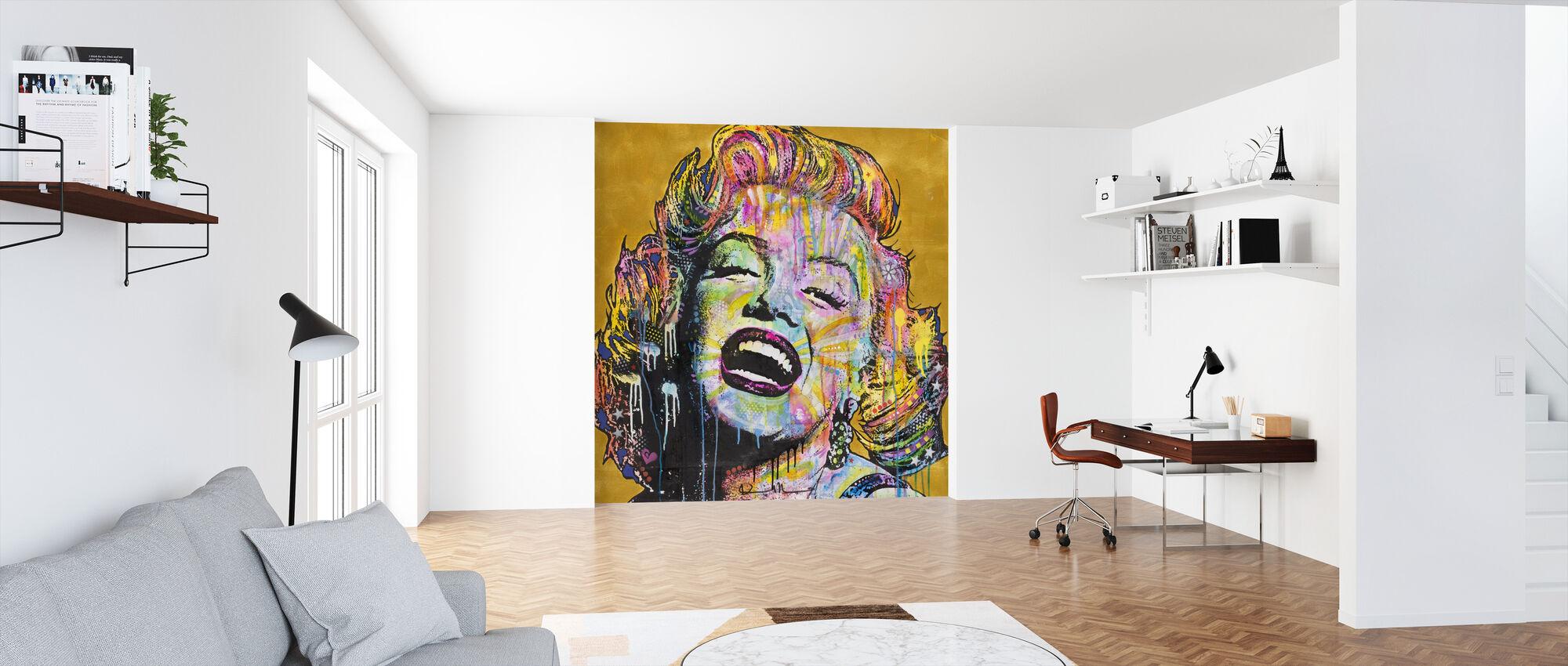Marilyn Multicolor - Wallpaper - Office