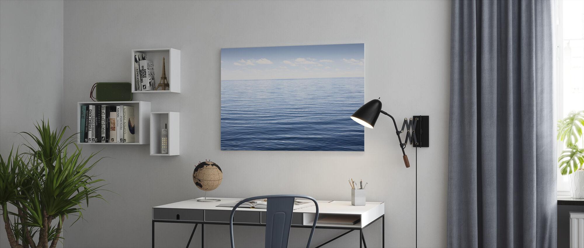 Endless Sea - Canvas print - Office