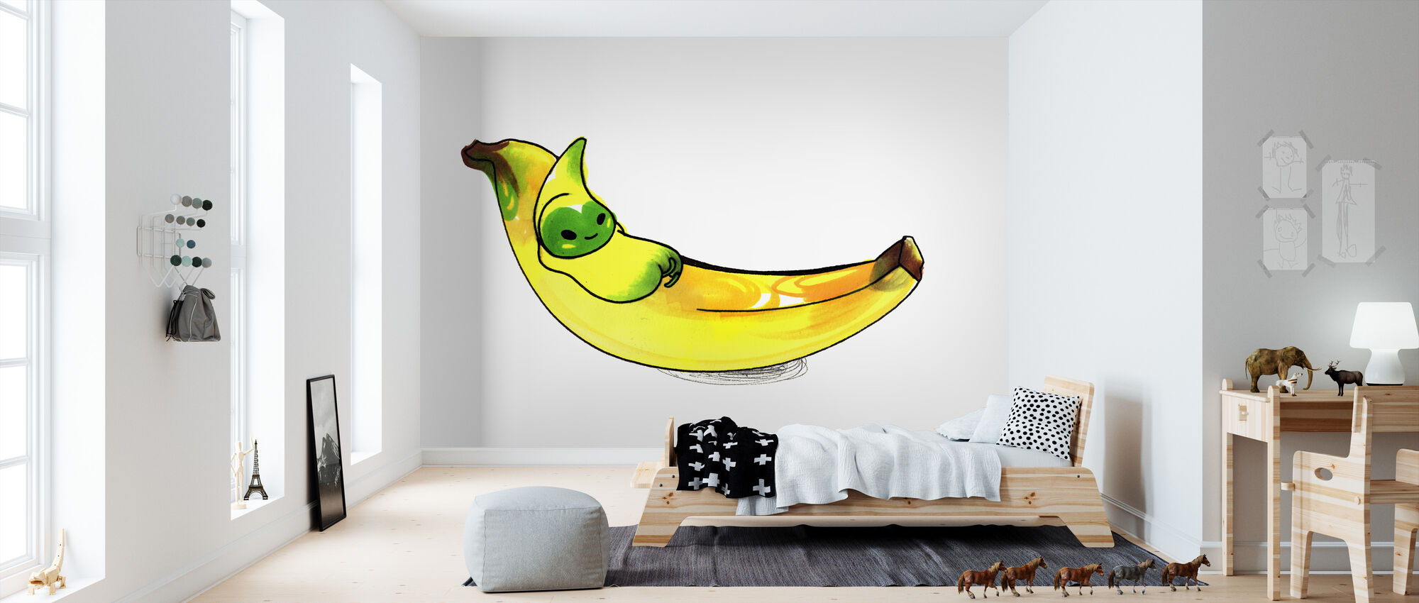 Banana - Wallpaper - Kids Room