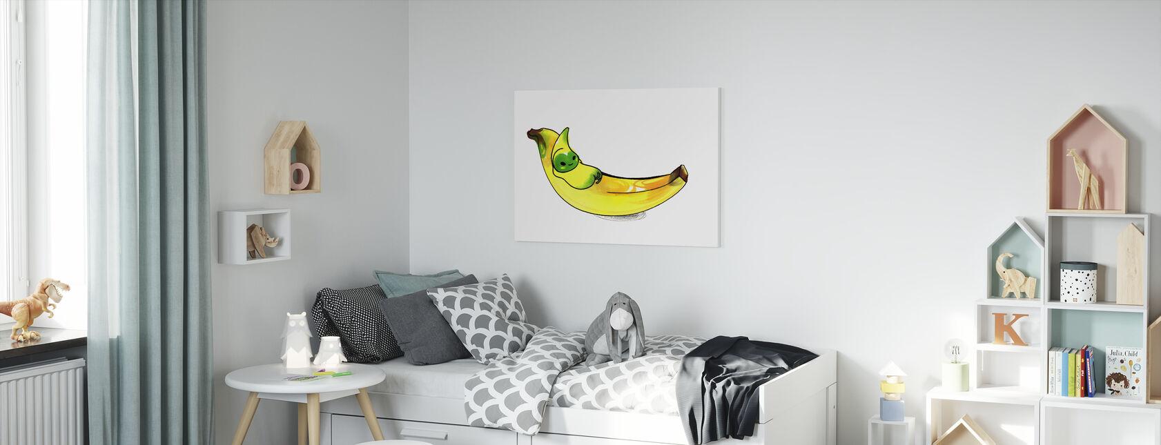Banana - Canvas print - Kids Room