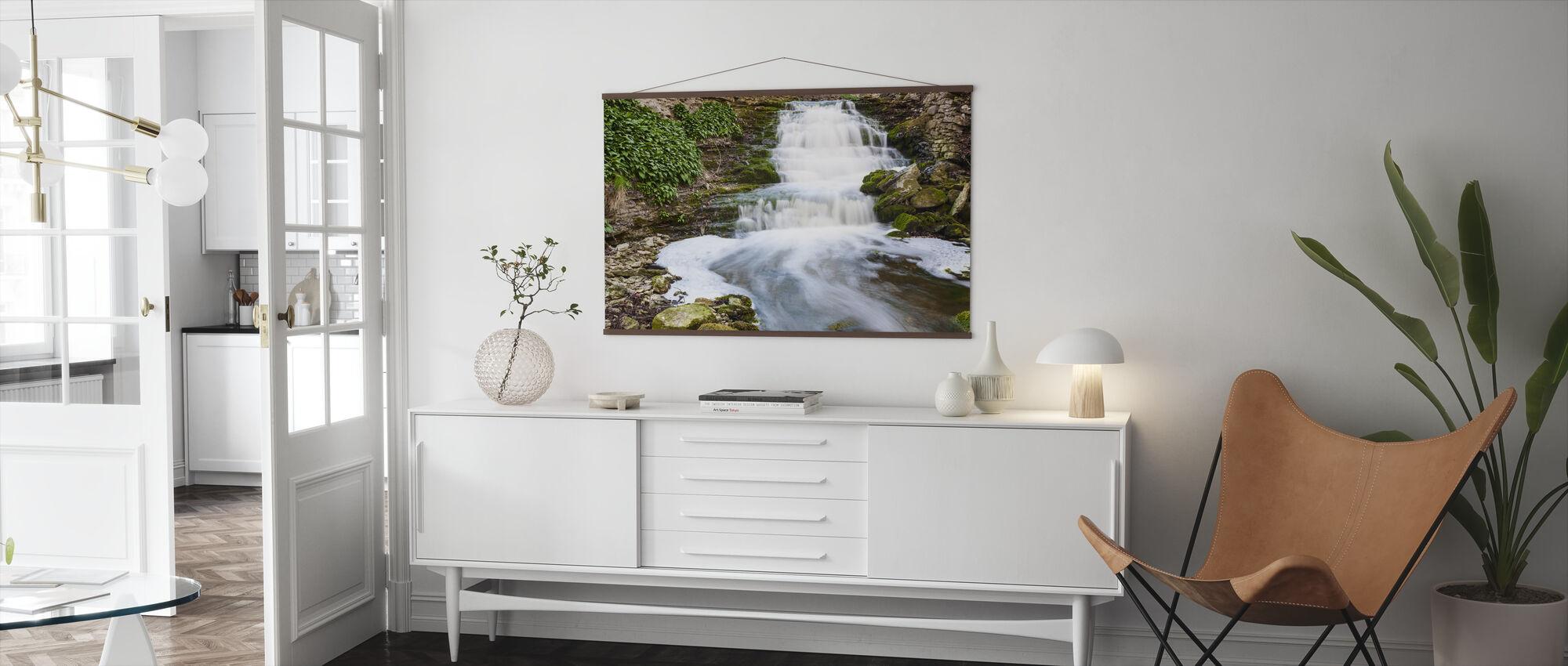 Fluss Gotland - Poster - Wohnzimmer