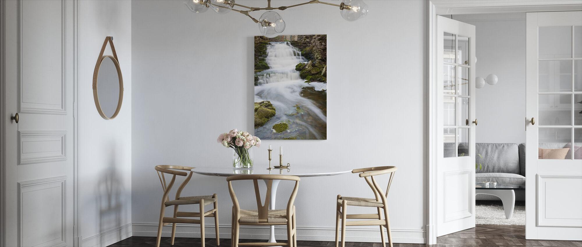 Clear Stream, Gotland - Canvas print - Kitchen
