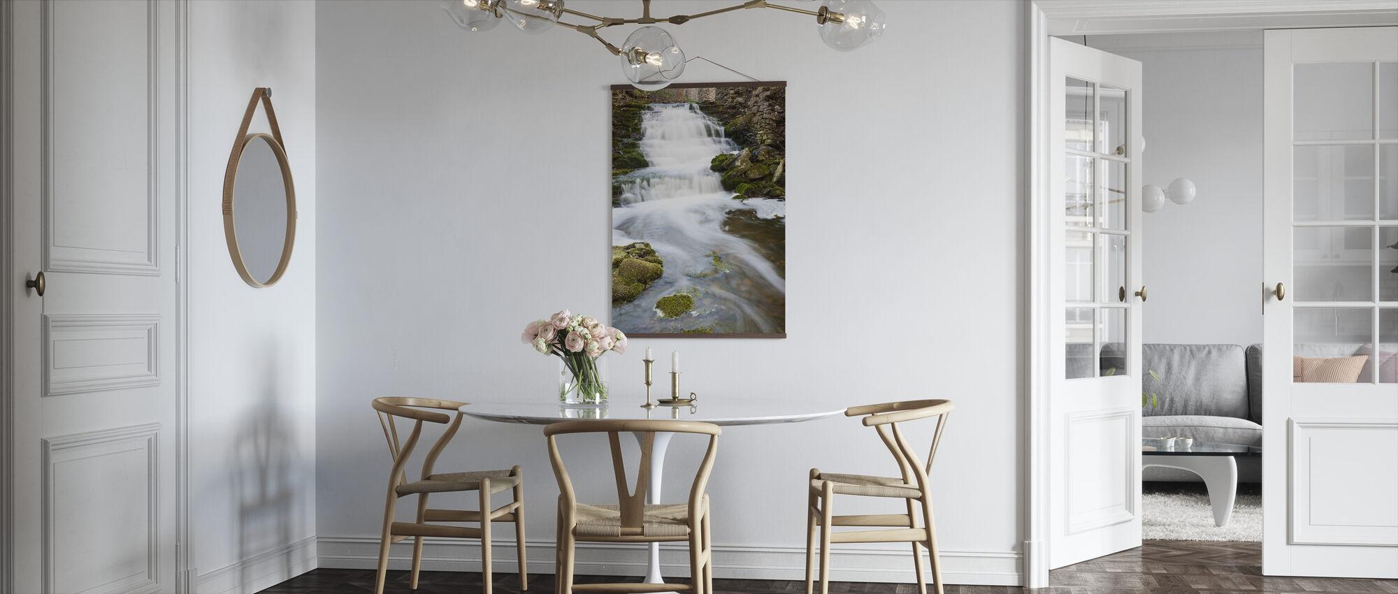 Duidelijke stroom, Gotland - Poster - Keuken