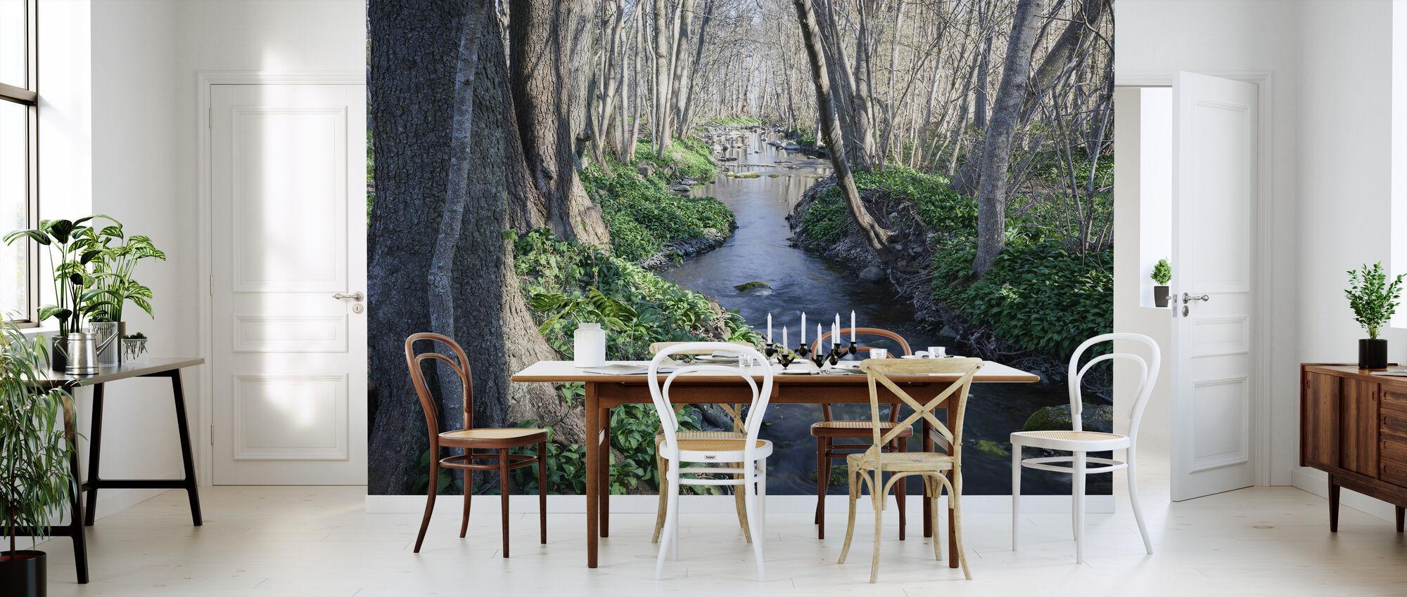 Spring River - Tapet - Kjøkken