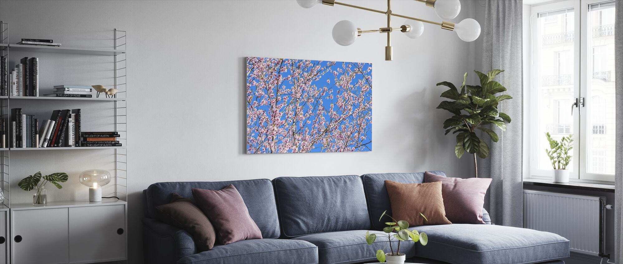 Cherry Blossom Tree - Canvas print - Living Room