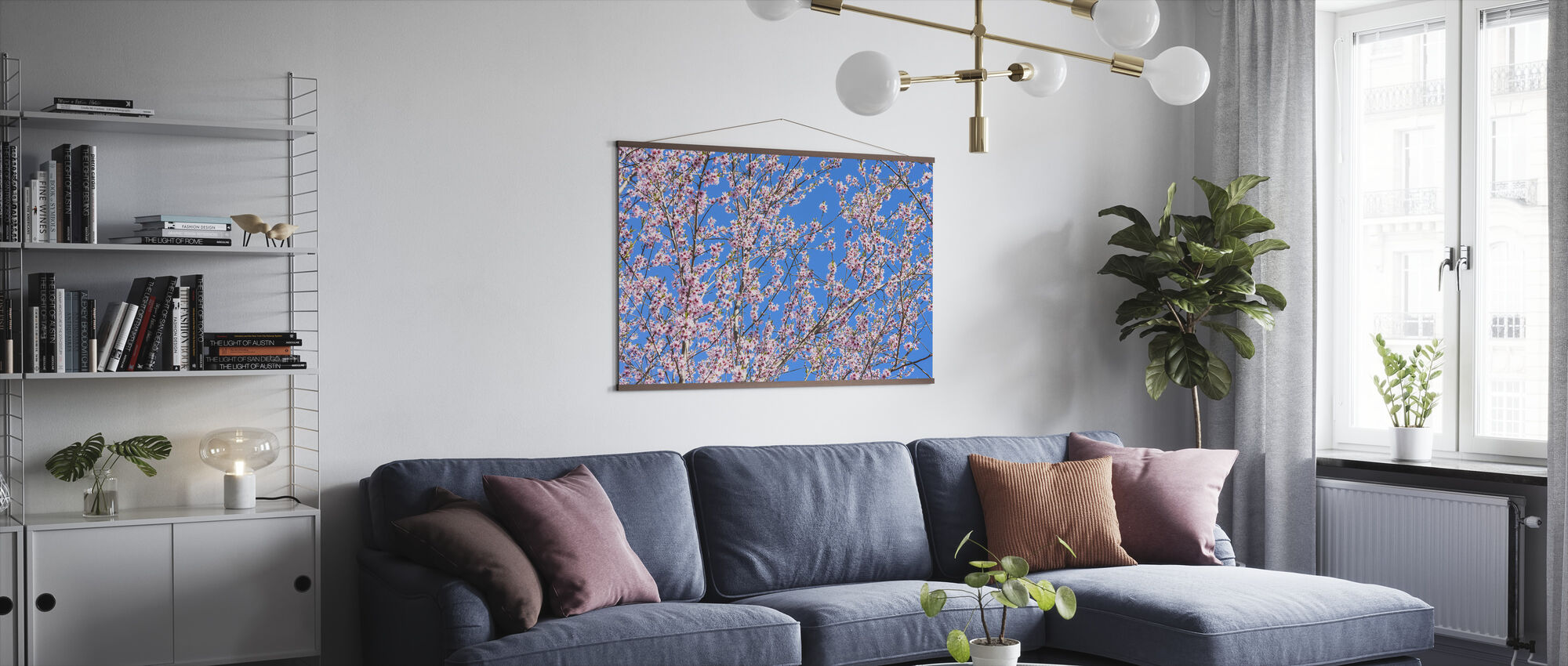 Cherry Blossom Tree - Poster - Living Room