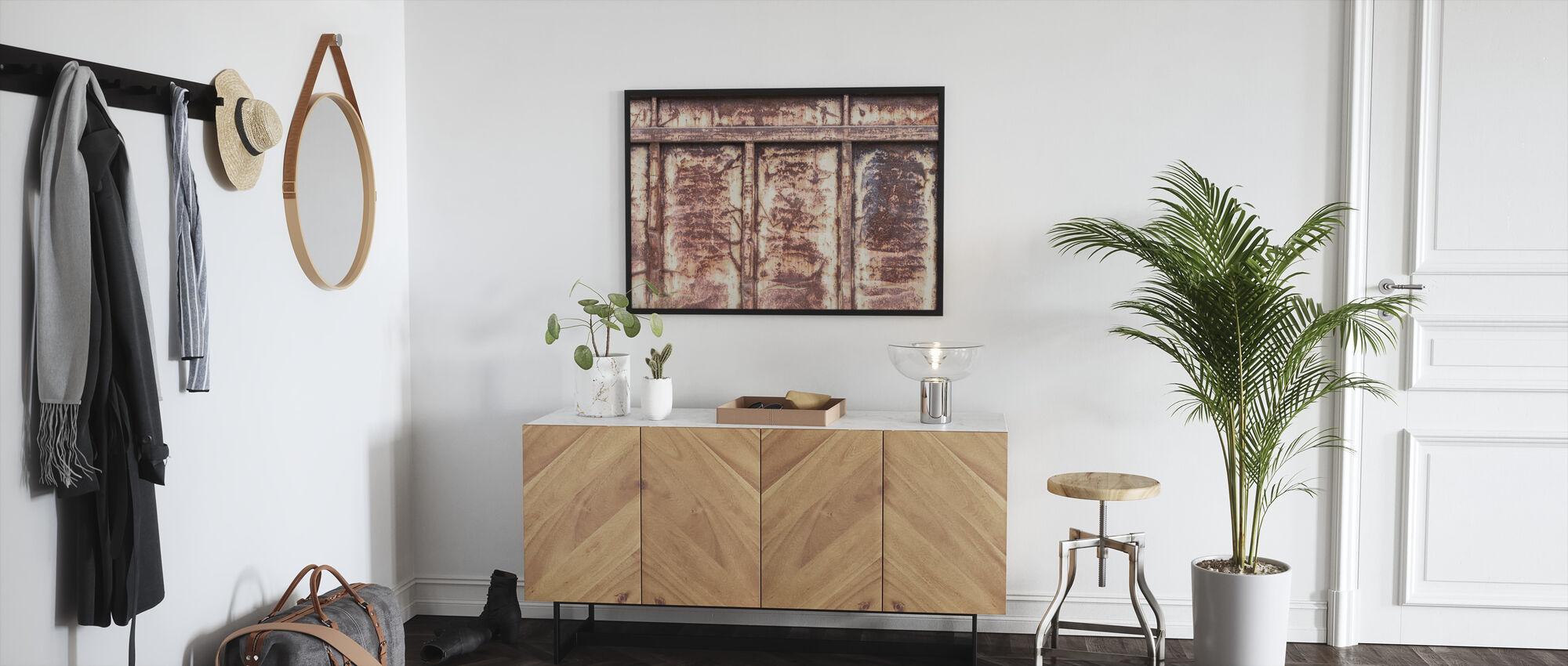 Rusty - Framed print - Hallway