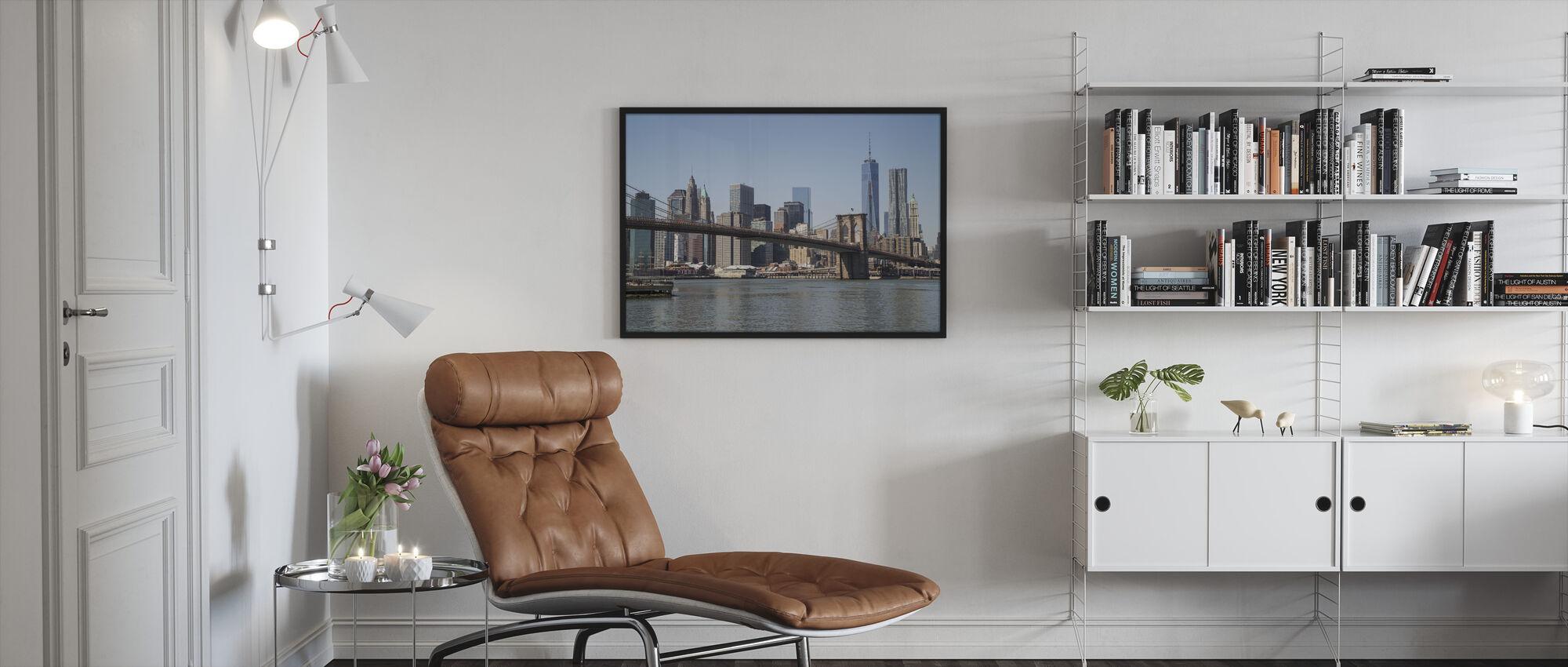 New York - Freedom Tower - Framed print - Living Room