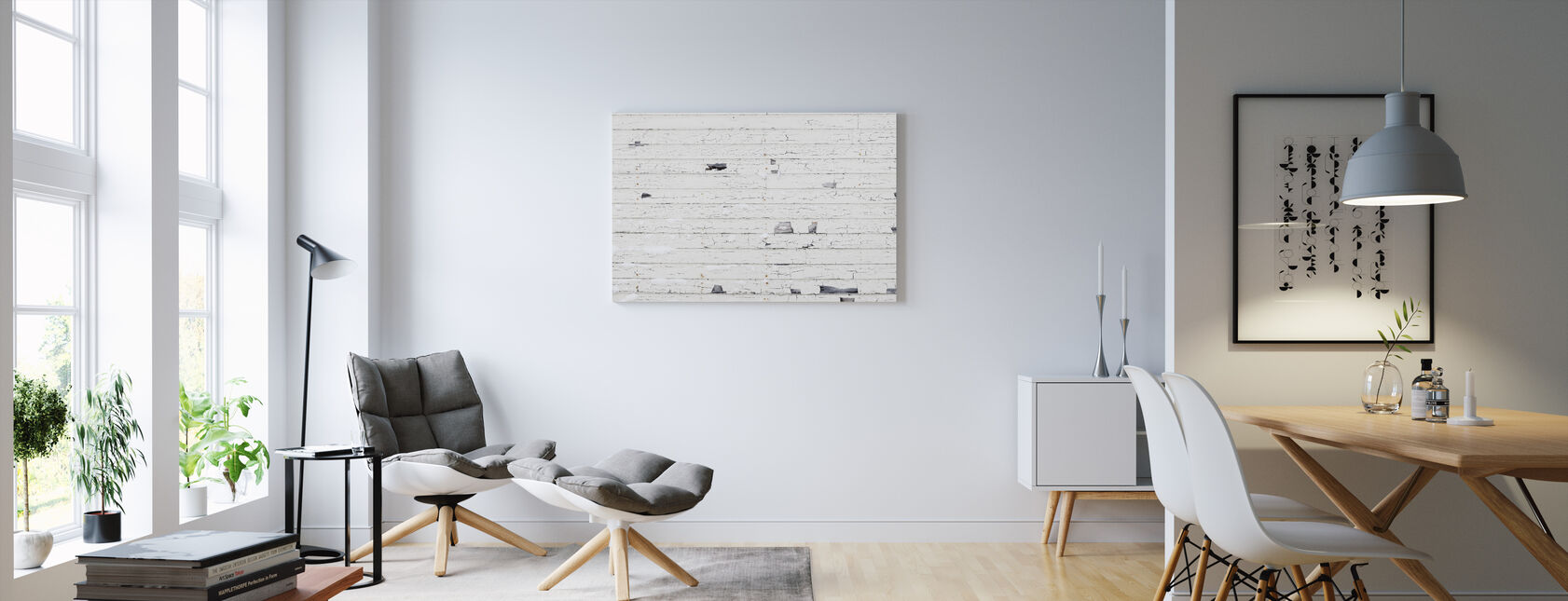 White canvas prints