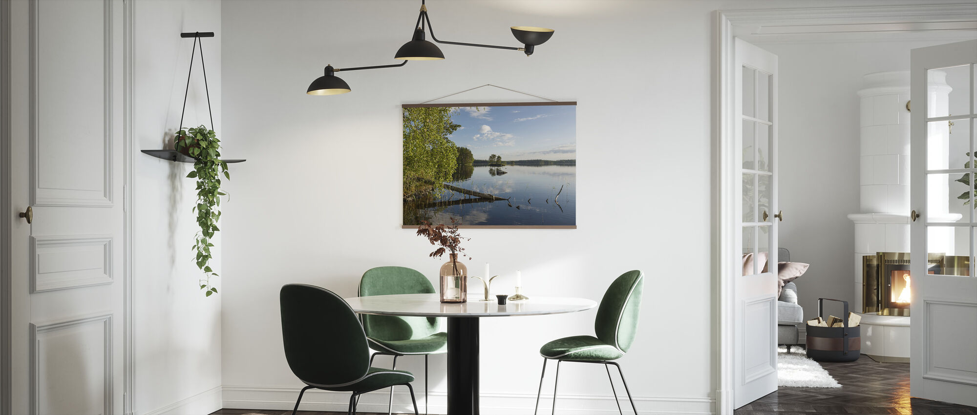 Swedish Lake Landscape - Poster - Kitchen