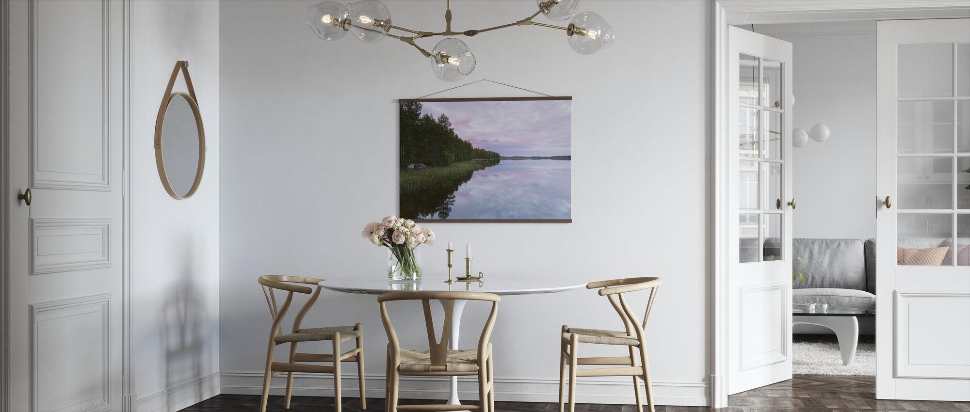 Purple Lake Sunset - Poster - Kitchen