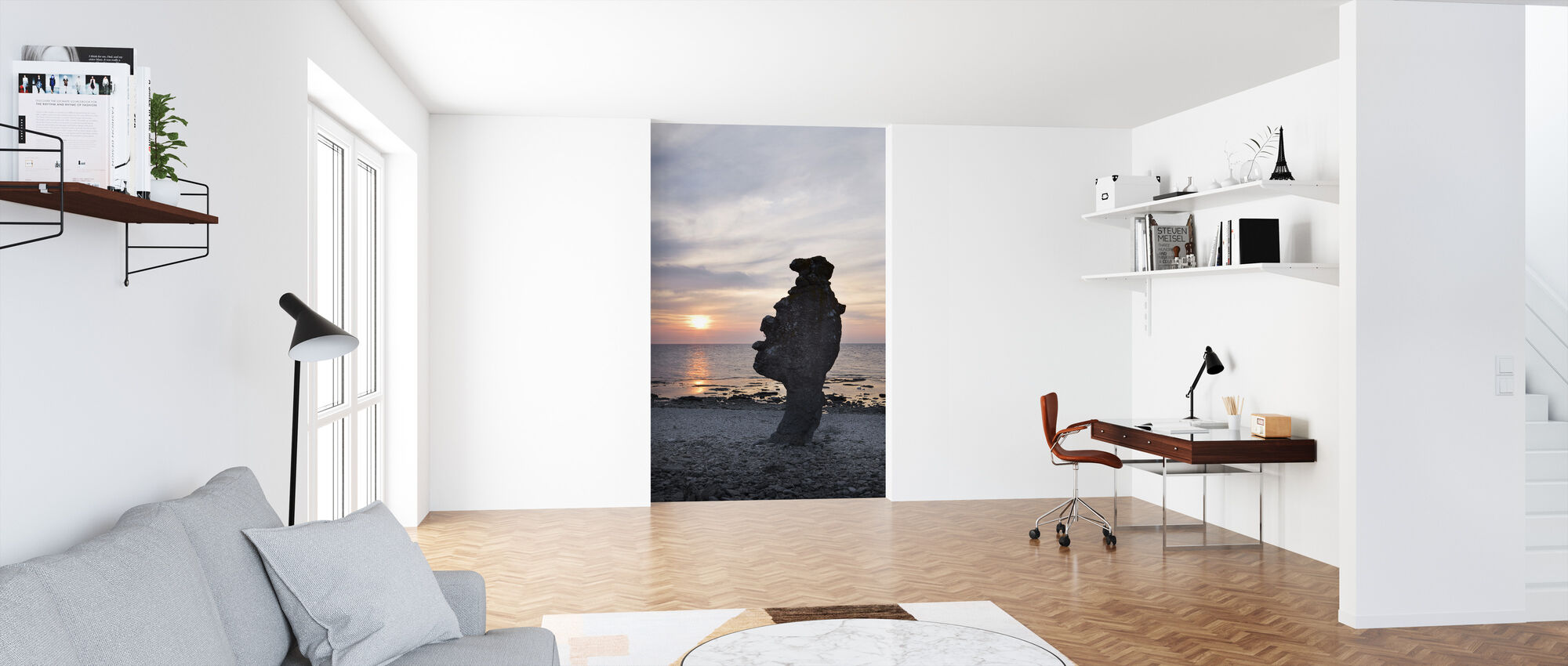 Gotland Rauk - Wallpaper - Office