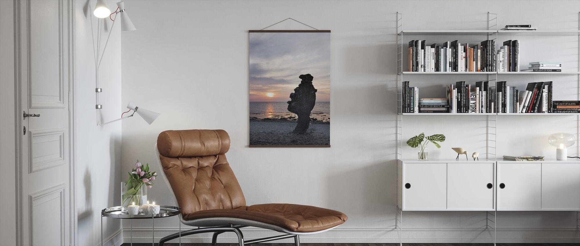 Gotland Rauk - Poster - Wohnzimmer