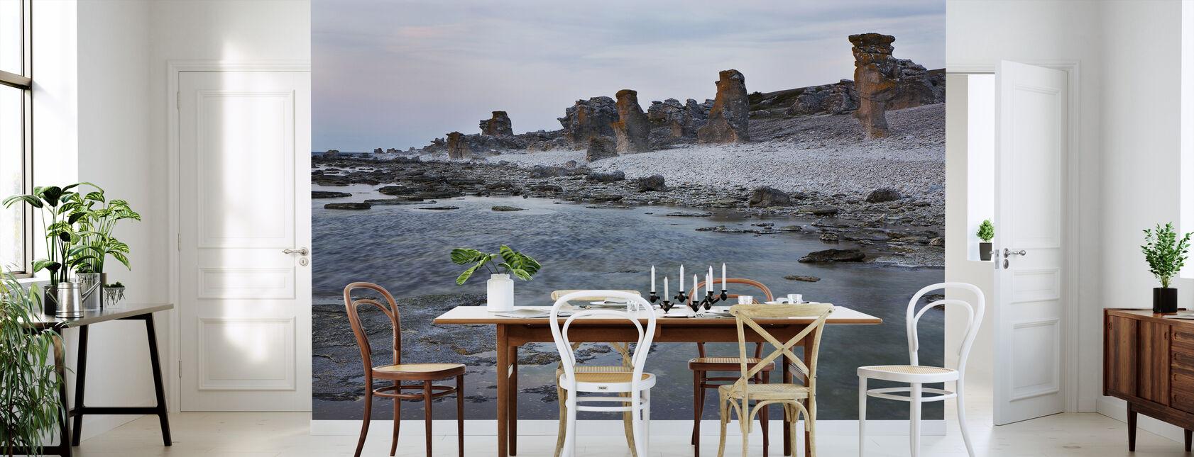 Gotland Rauk strand - Tapet - Kök