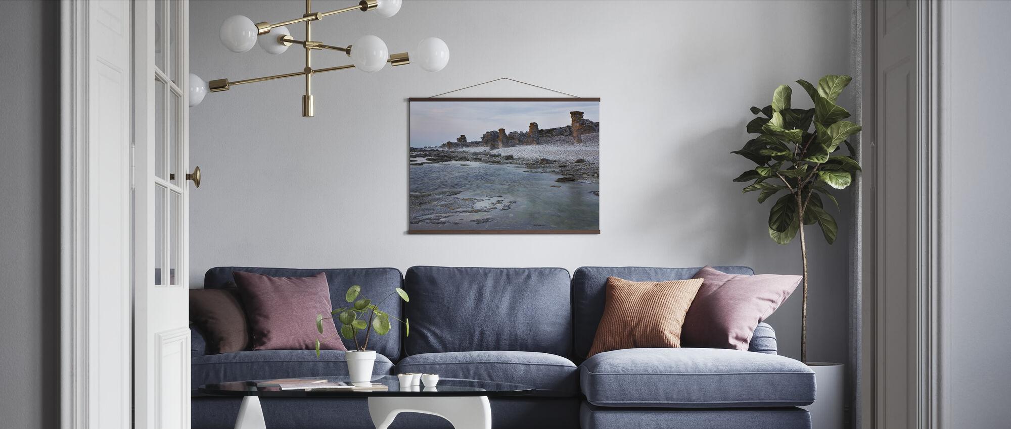 Gotland Rauk Beach - Poster - Woonkamer