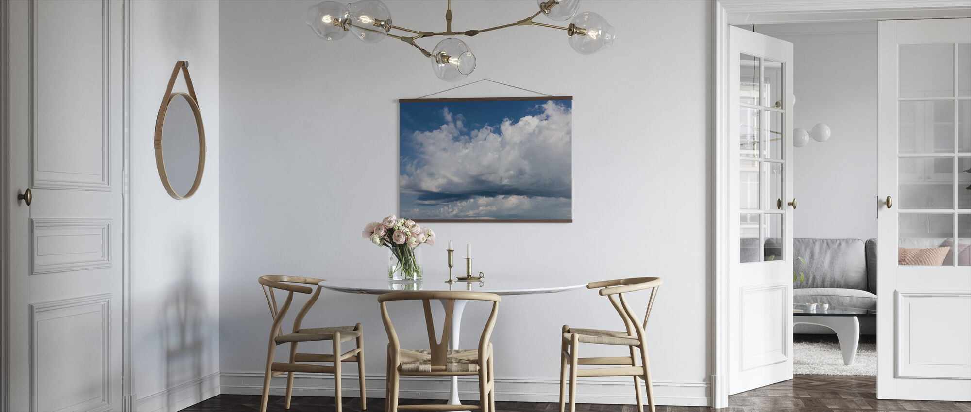 Cloudy Sky - Poster - Kitchen
