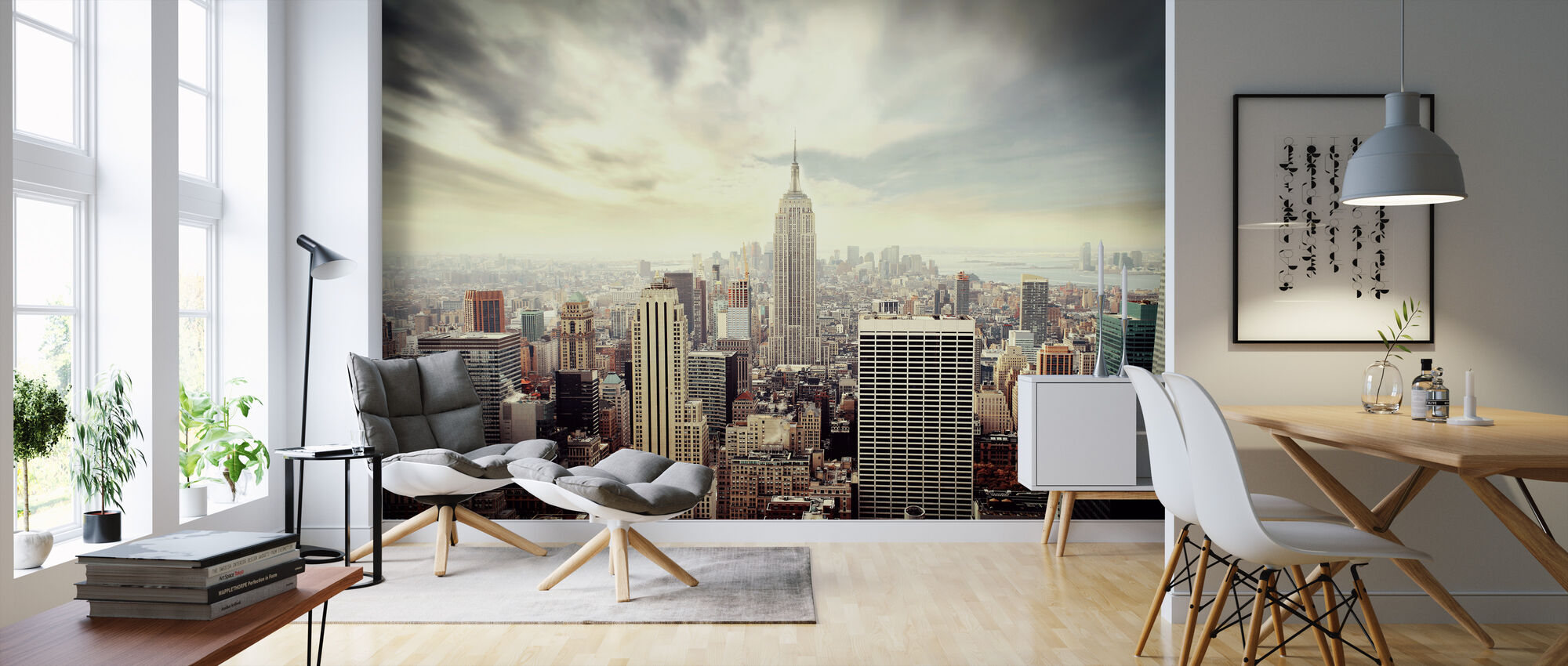Enchanting New York Vintage High Quality Wall Murals With Free