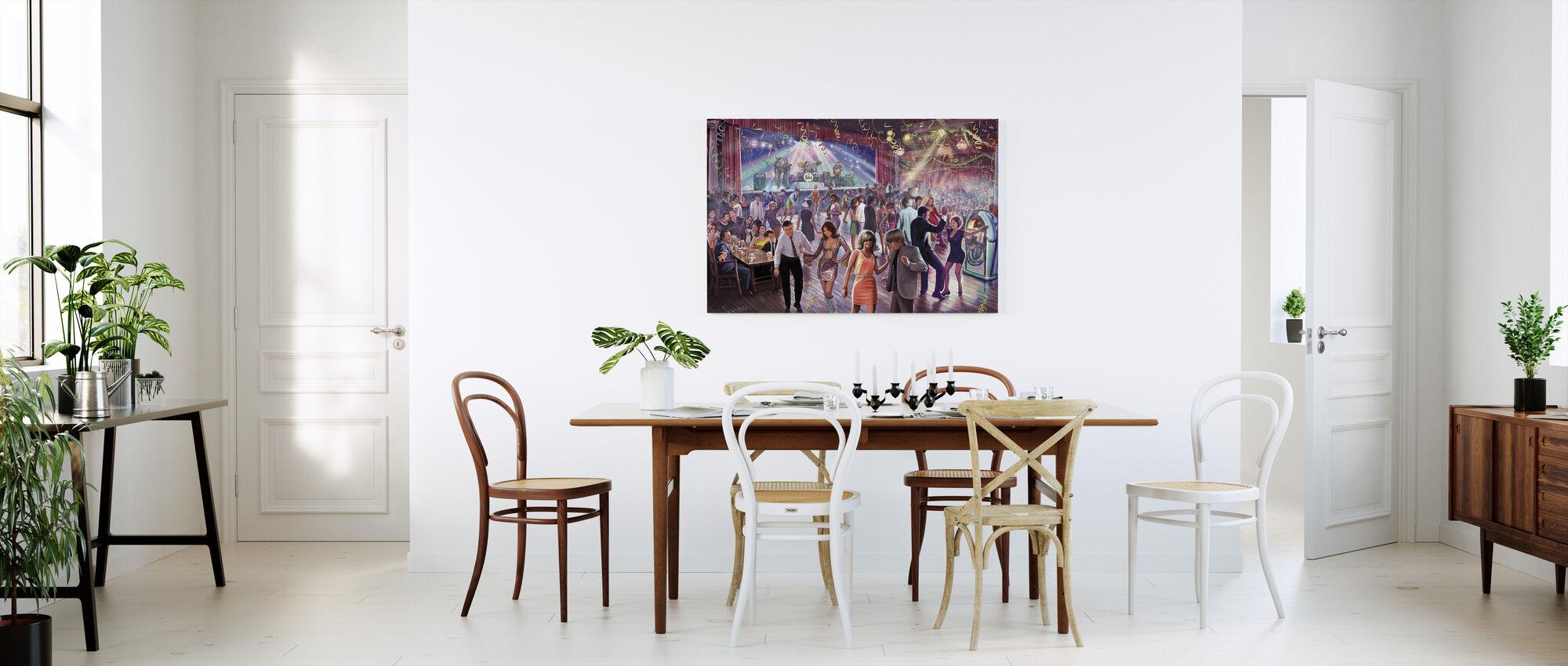 1960 dansescenen - Lerretsbilde - Kjøkken